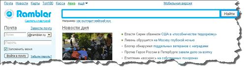 Яндекс (yandexru) рамблер (ramblerru) гугл (googlecom) бинг (bingcom)