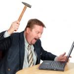Основные раздражающие факторы на сайте